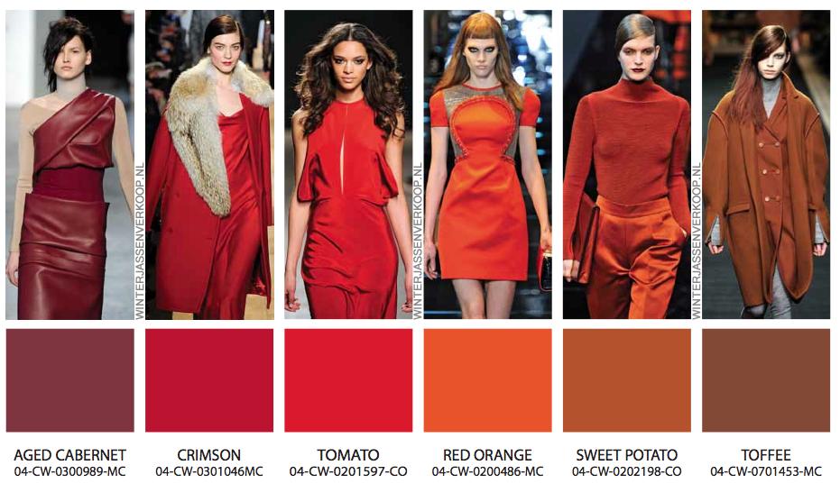 Kleuren palet winterjas