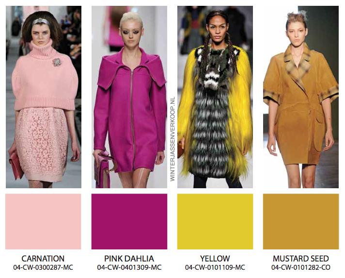 Kleuren winterjassen voor dames en heren