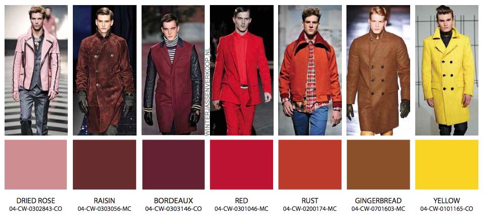 kleuren jassen