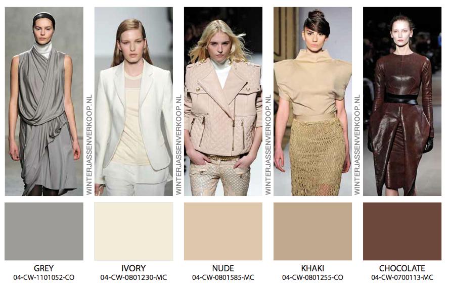 Kleuren trends winterjassen