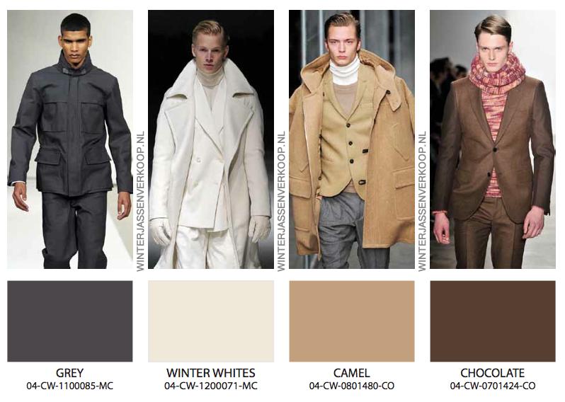 Welke kleuren winterjassen