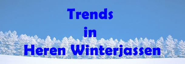 Trends in Heren Winterjassen